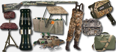 duck hunting gear list