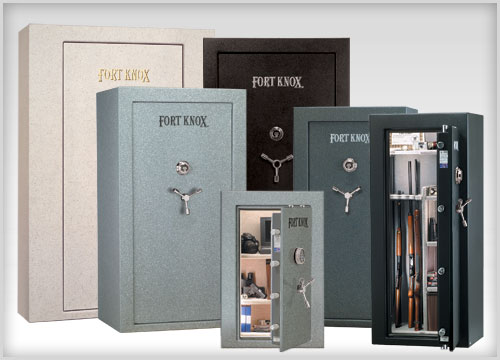 different sizes of safes