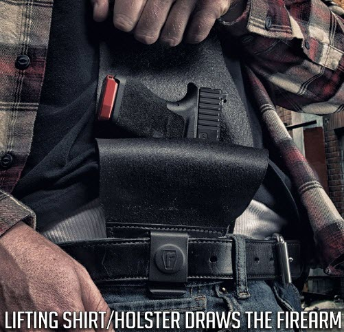 size of your gun urban carry holster review