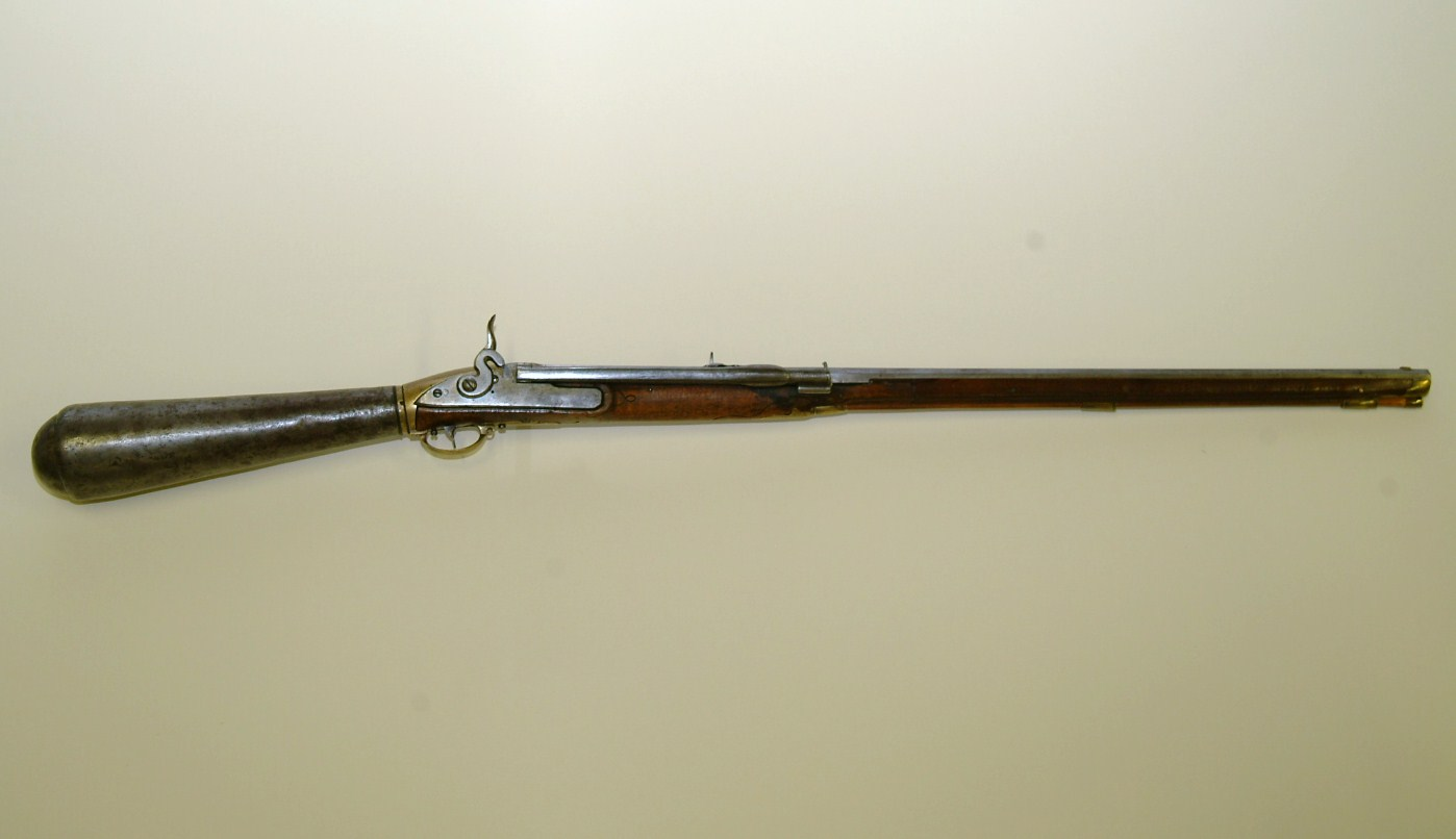 picture of a girandoni air rifle