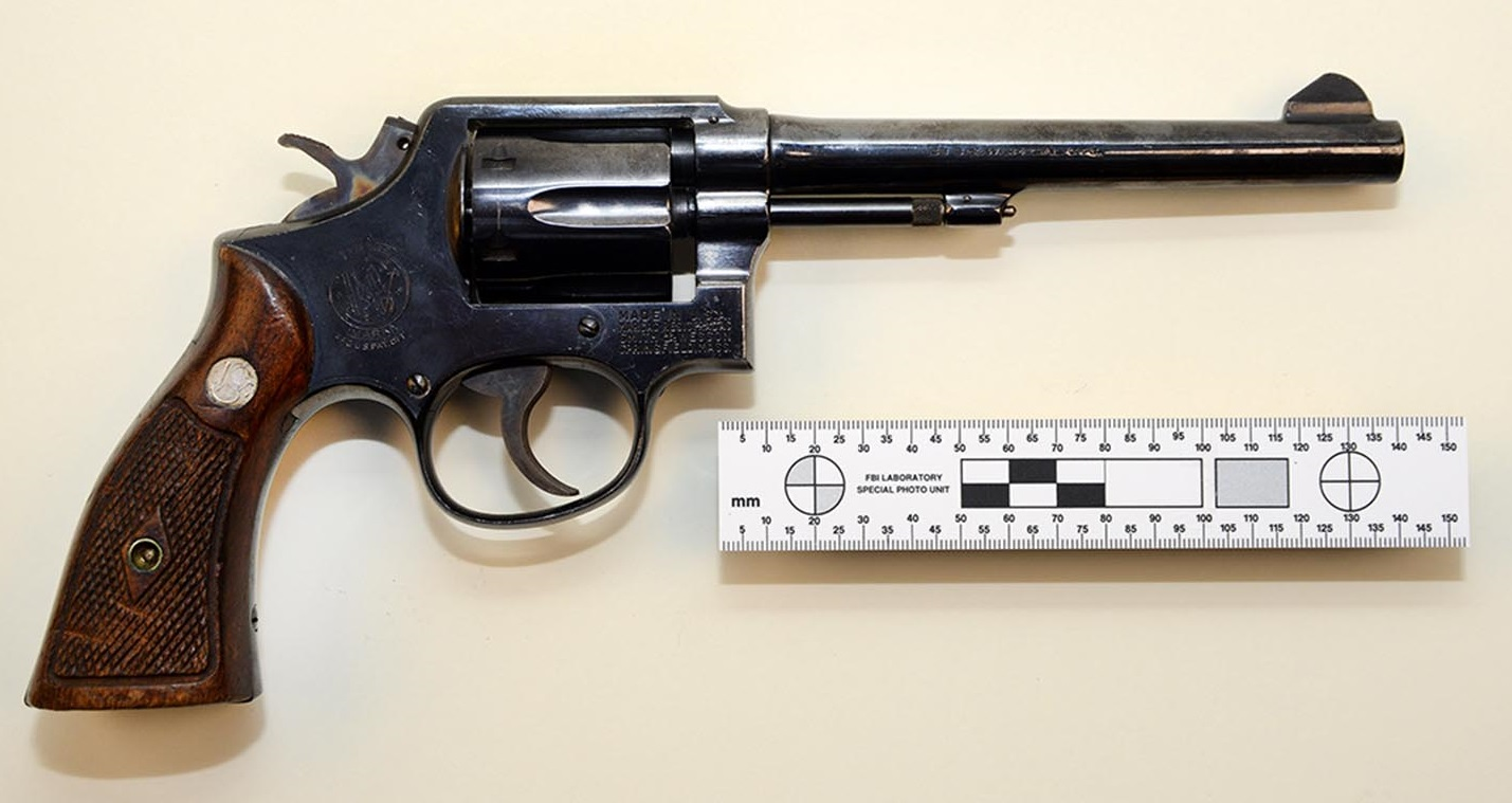 is a six-shot double-action revolver chambered for .22 LR