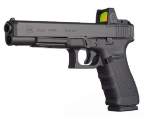 10mm pistol product image: The_Glock_40