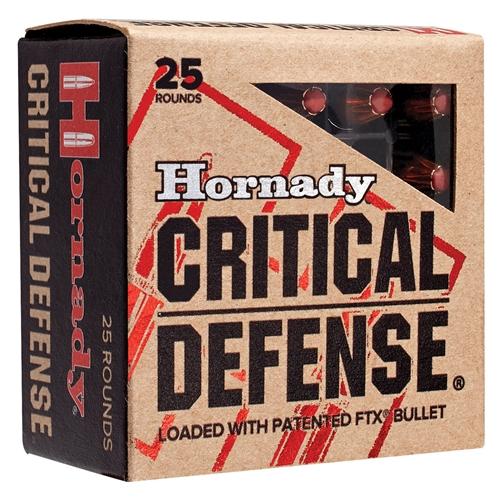 Hornady Critical Defense Flex Tip (FaTX)