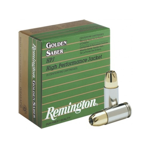 Remington Golden Saber 9mm Brass-JHP Ammo