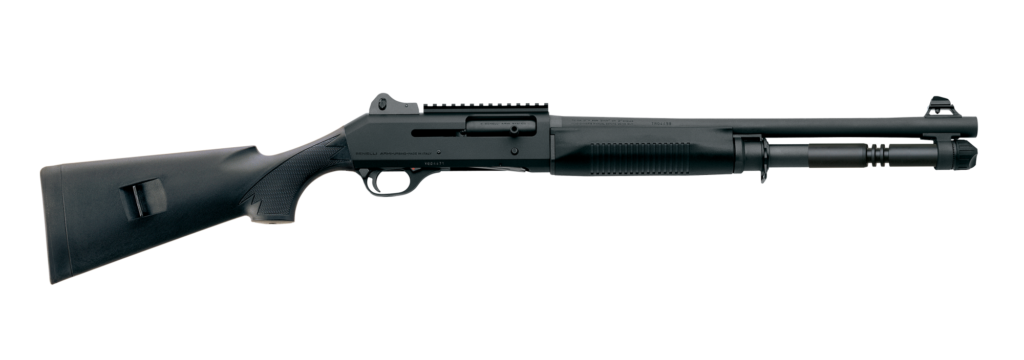 product photo of Benelli M4 Tactical semi-auto shotgun