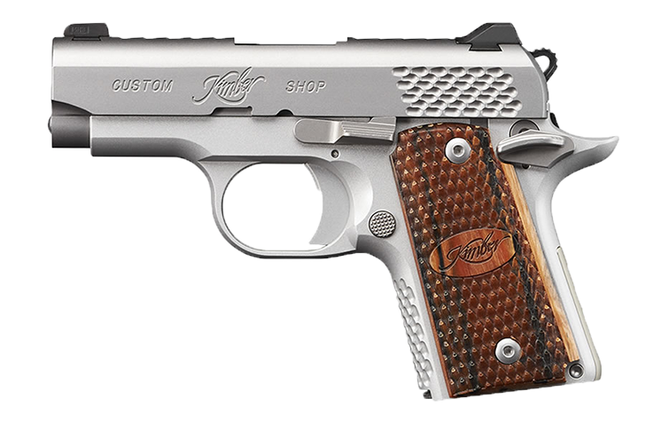 a product photo of kimber micro 9 stainless raptop